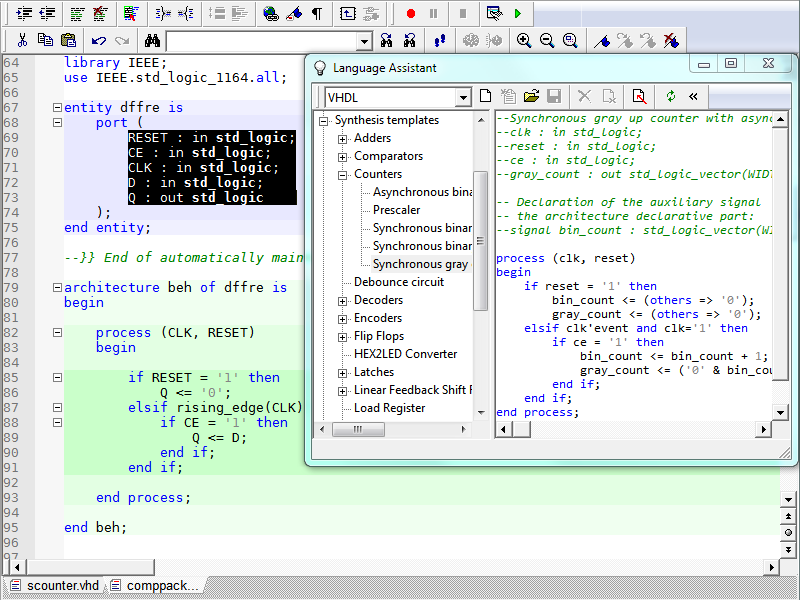 graphical text design entry fpga design solutions aldec rh aldec com