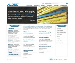 New Aldec Web