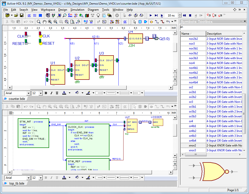 Active-HDL Designer Edition - FPGA Simulation - Products - Aldec