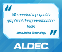 aldec testimonial intermotion