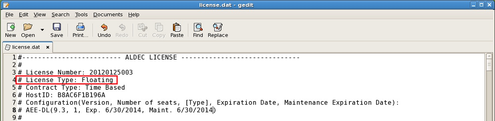 Floating License Installation on Linux/Unix - FAQ - Documentation