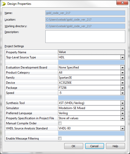Starting Active-HDL as the Default Simulator in Xilinx ISE